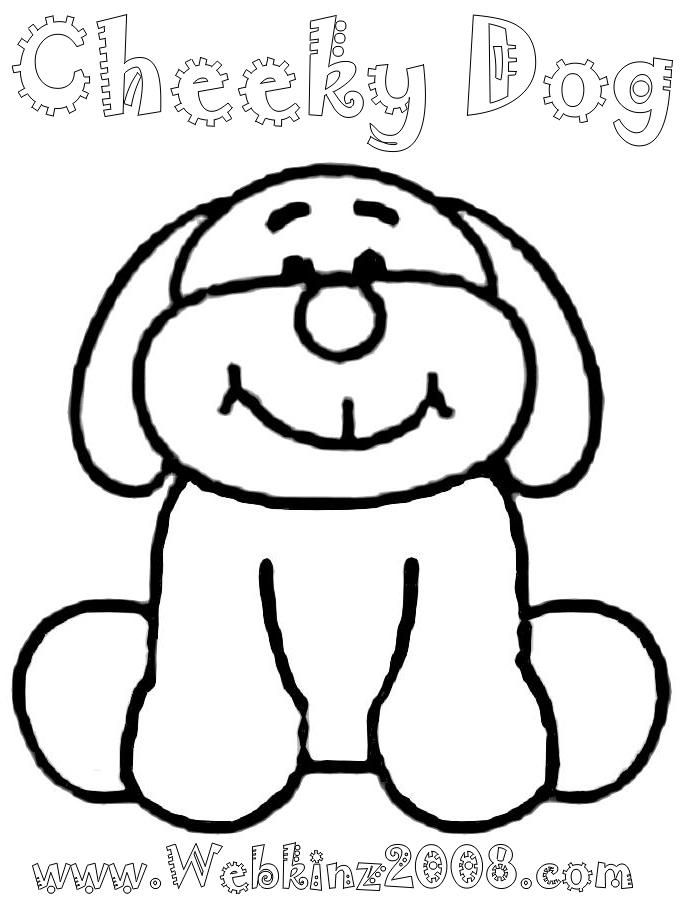 webkinz pets coloring pages - photo#21