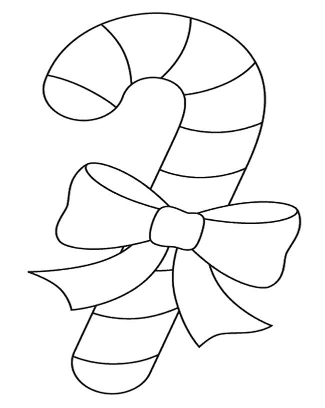 candy cane color page az coloring pages