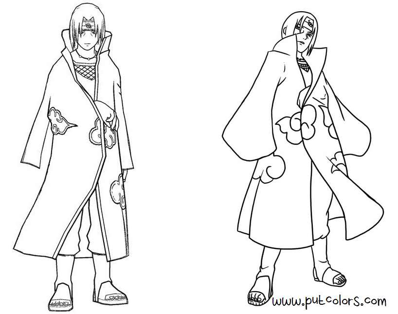 Naruto Coloring Pages Pdf : Naruto coloring pages for manga lovers home