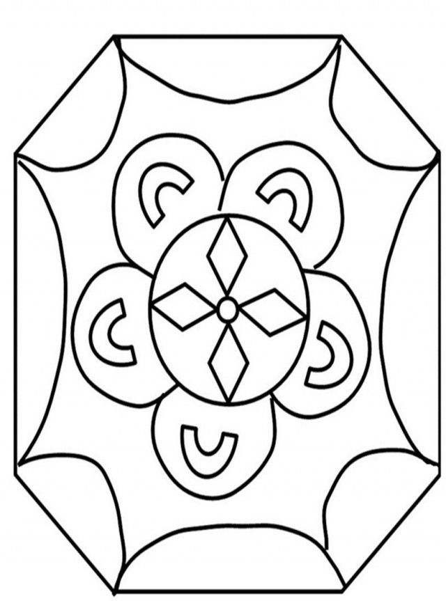 Rangoli coloring pages coloring home for Rangoli coloring pages
