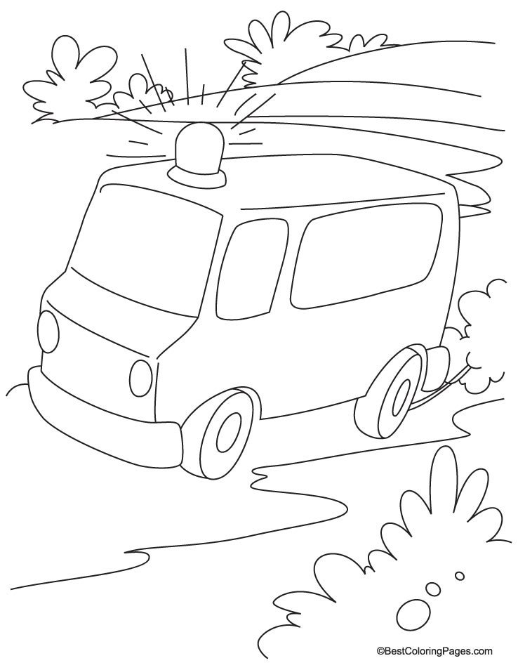 Road Coloring Page Coloring Home