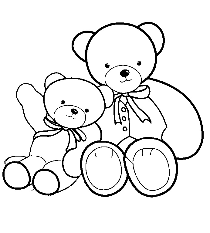 Babydolls Free Coloring Pages