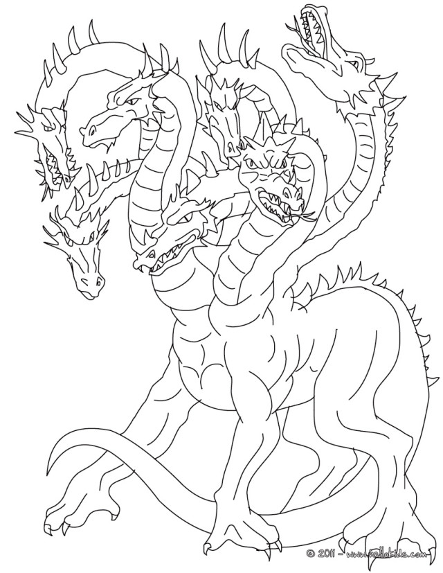 free fun coloring pages myths - photo#7