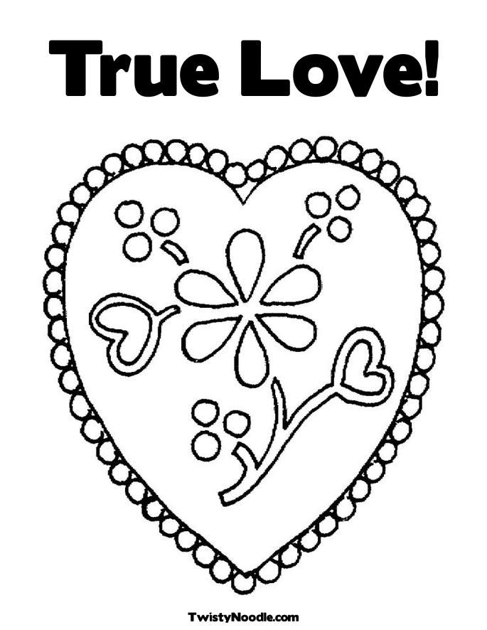 flowers and love hearts colouring pages page 2 az coloring pages