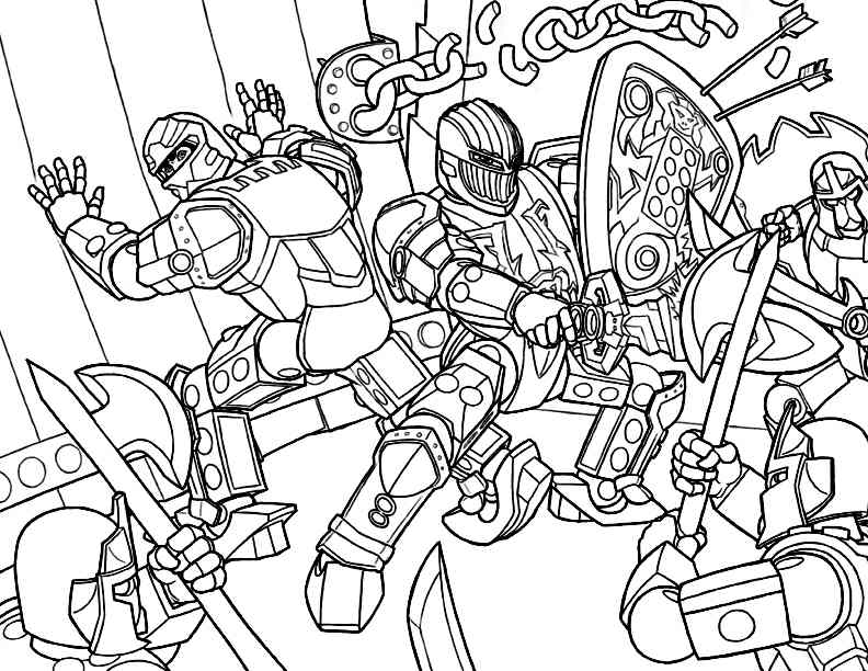 Lego Hero Factory Coloring Pages Coloring Home