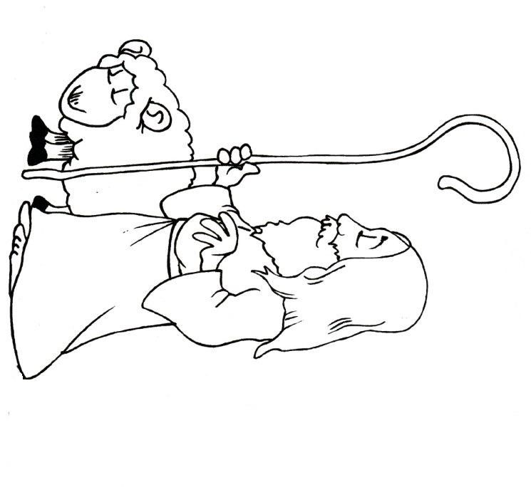 lost sheep parable coloring pages - photo#17
