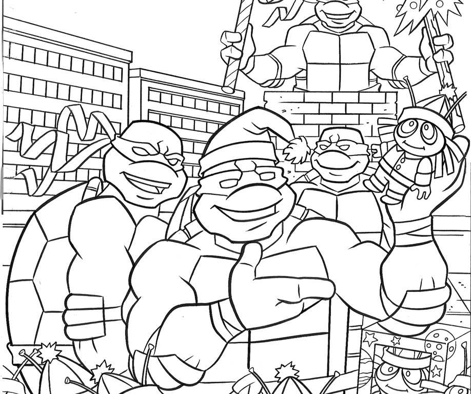 Ninja turtles colors az coloring pages for Teenage mutant ninja coloring pages