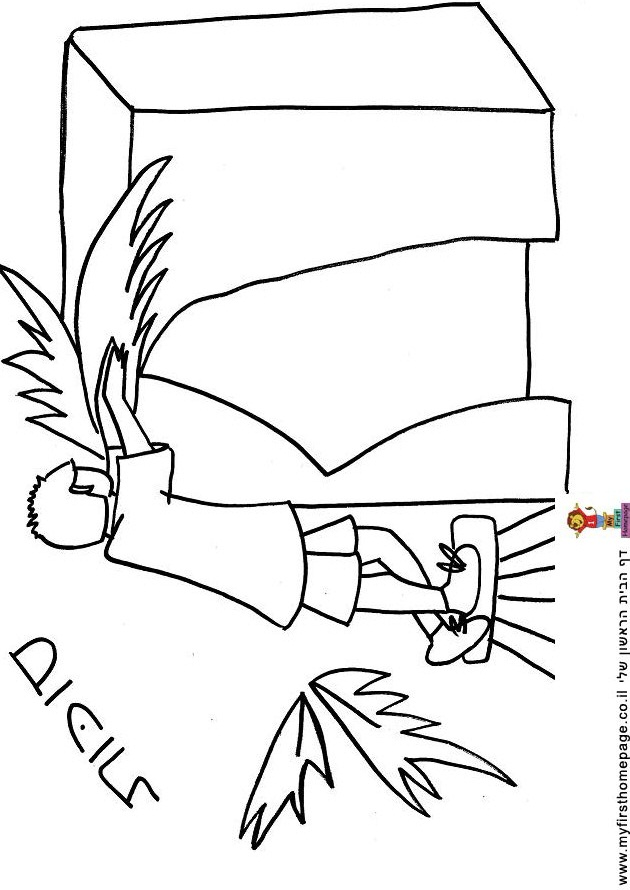 Sucot Colouring Pages (page 3)