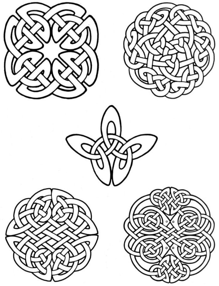 celtic tattos Colouring Pages