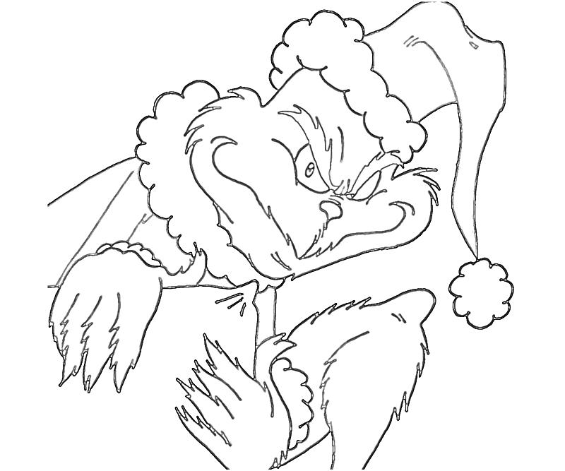 How The Grinch Stole Christmas Coloring Pages Az How The Grinch Stole Printable Coloring Pages
