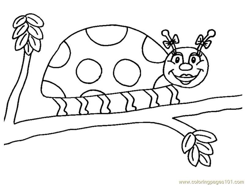 The Grouchy Ladybug Coloring Pages
