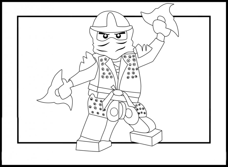 Lego City Coloring Page