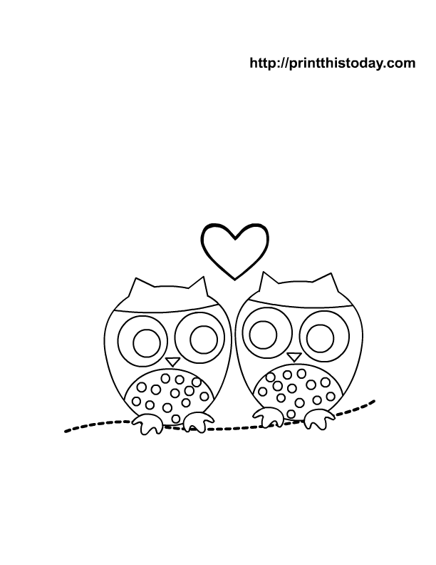 Cute Coloring Pages Of Owls Images & Pictures - Becuo