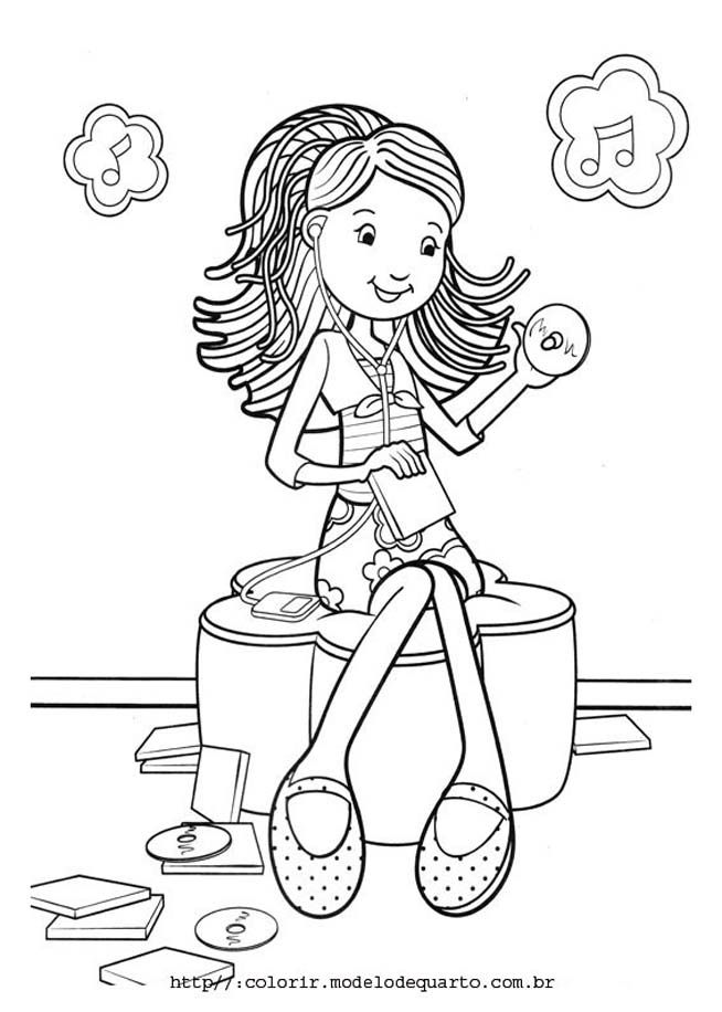 Groovy Animals Coloring Pages Free : Groovy girl pictures colouring pages coloring home