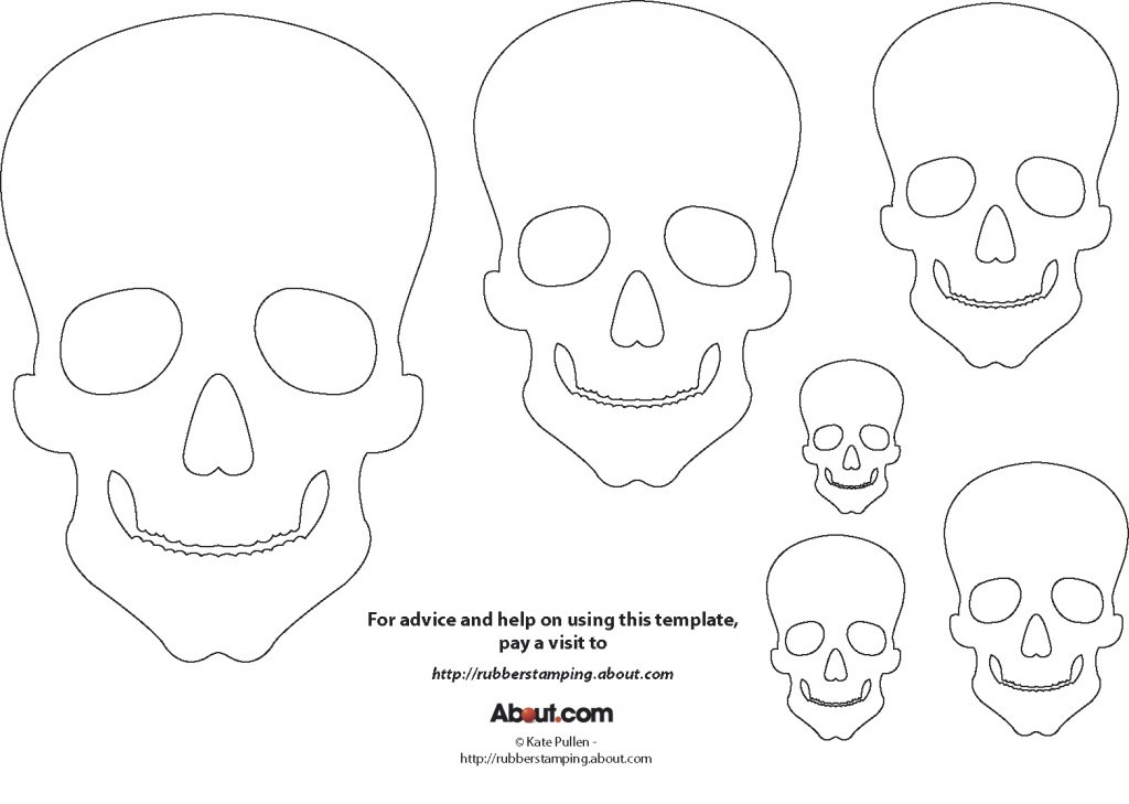 printable skulls for day of the dead | M O D F R U G A L