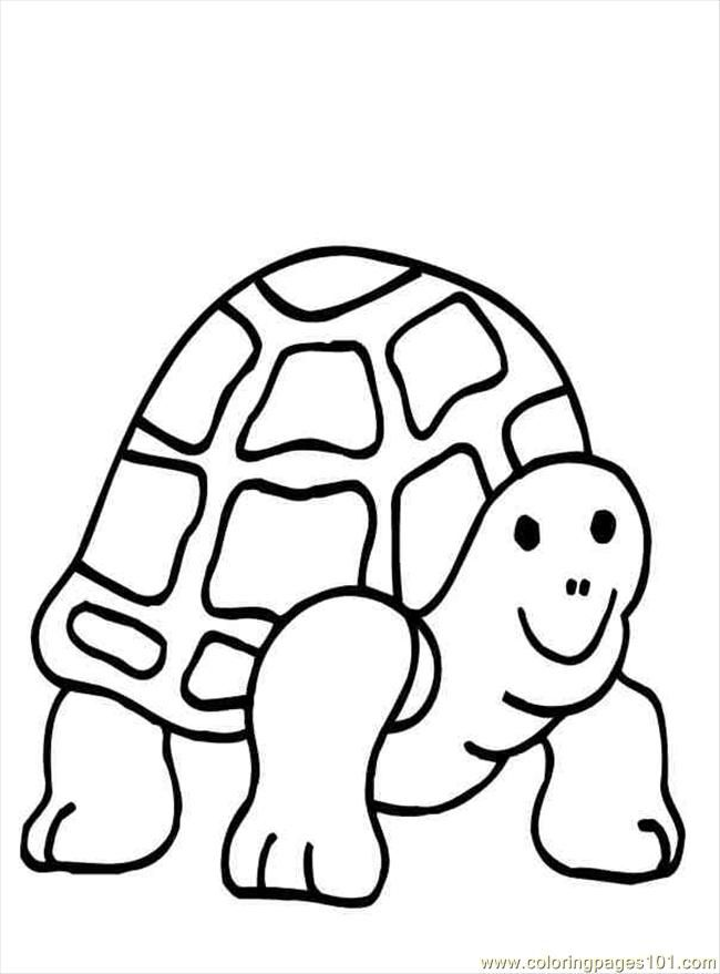 turtle cartoon coloring pages - photo#23