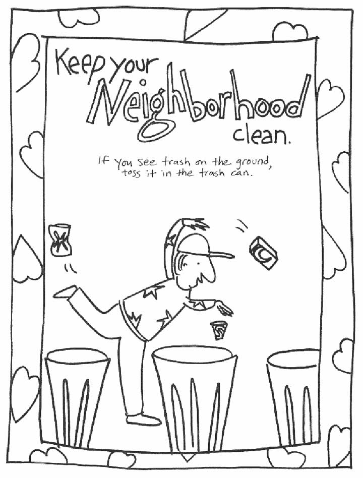 Conservation Coloring Pages Coloring