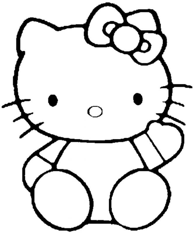 Hello Kitty Drawings Coloring Pages : Hello kitty drawings coloring home