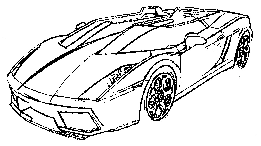 mustang coloring pages to print - photo#32