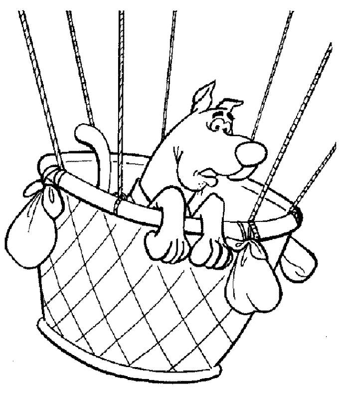 scrappy coloring pages - photo#42