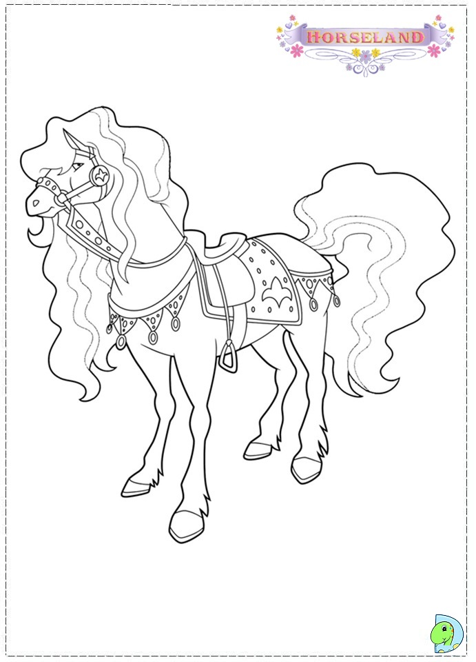 Horseland Pictures - AZ Coloring Pages