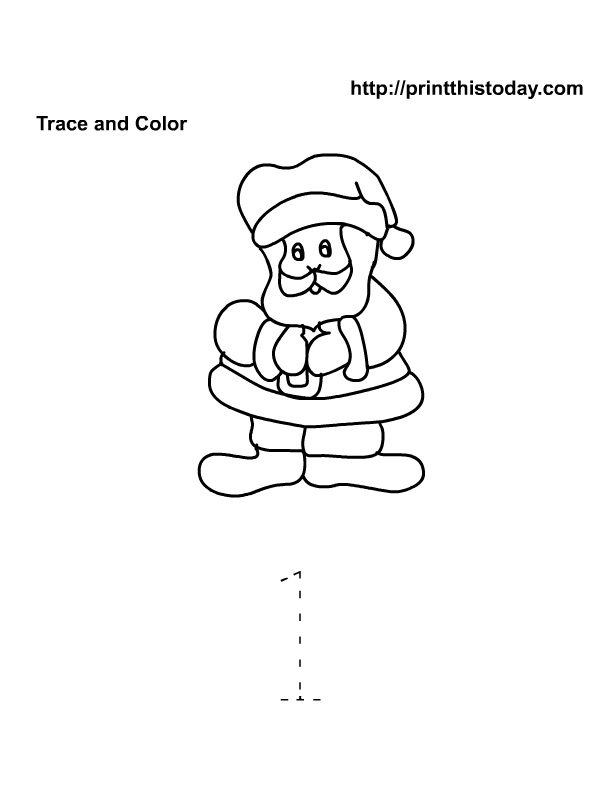 christmas color page holiday coloring pages plate