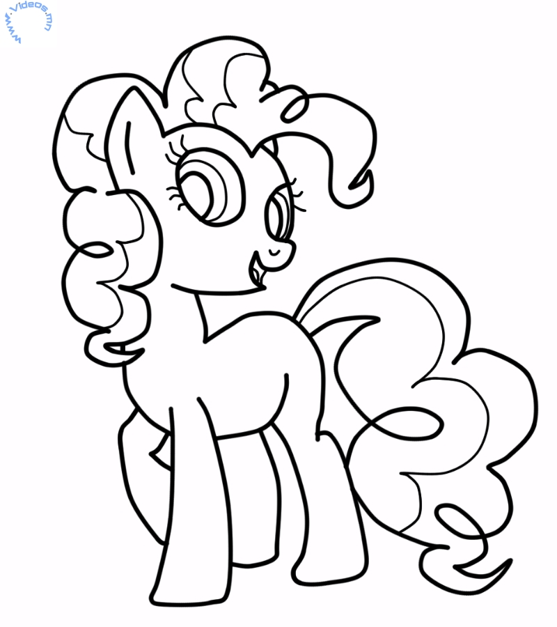 My Little Pony Pinkie Pie Coloring Pages My Little Pony Coloring Pages Pinkie Pie
