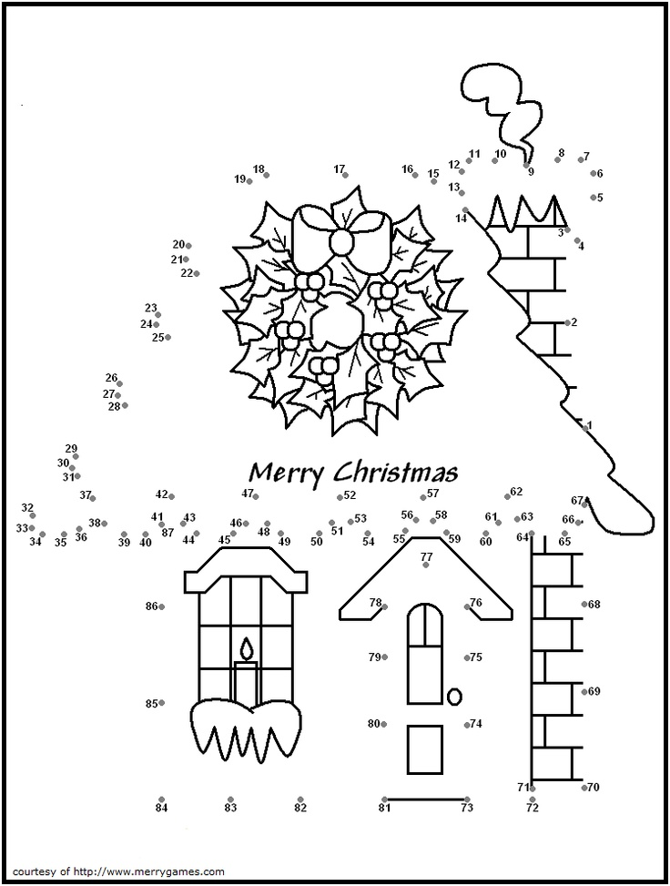 Dot To Dot Puzzles AZ Coloring Pages
