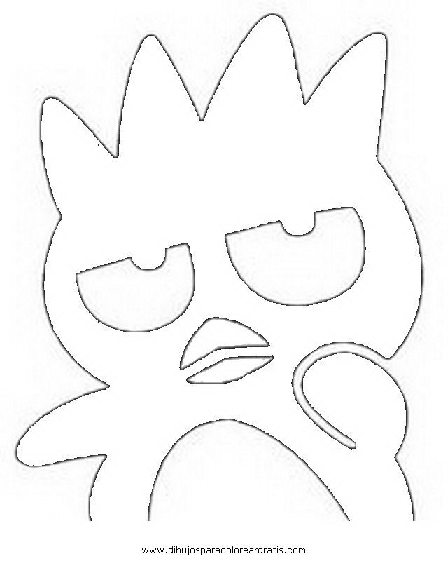 badtz-Maru Colouring Pages