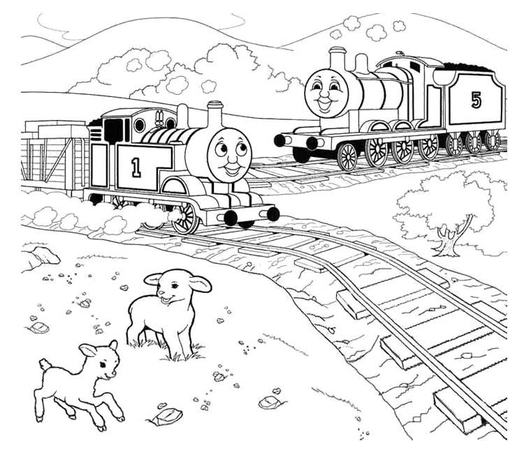 thomas friends coloring pages free - photo#17