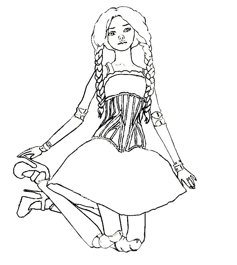 coloring pages of zendaya - photo#8