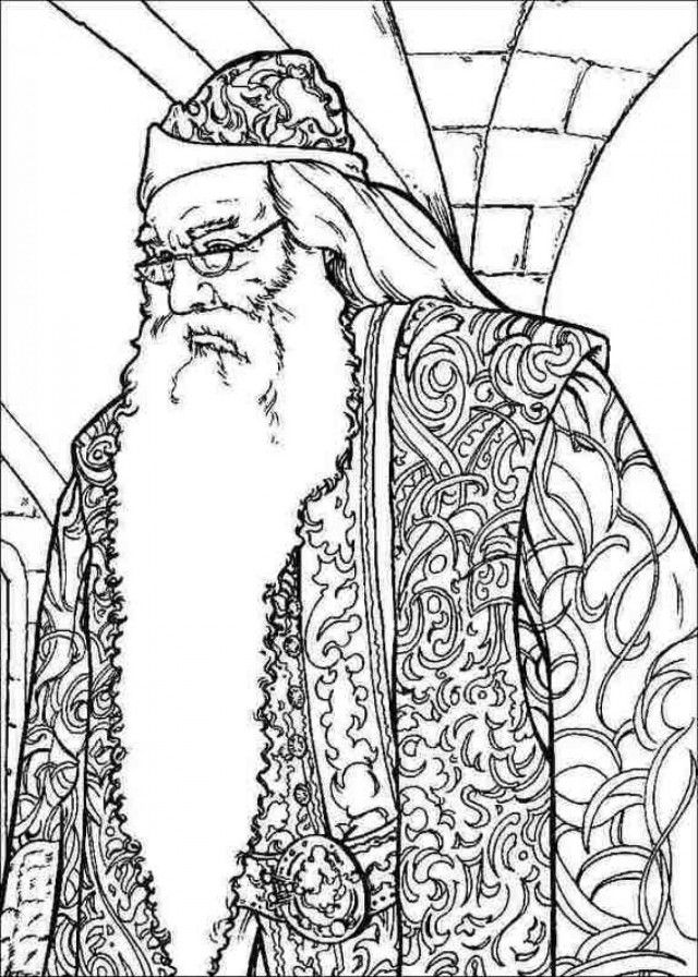 Harry Potter Coloring Pages For Kids Coloring Home