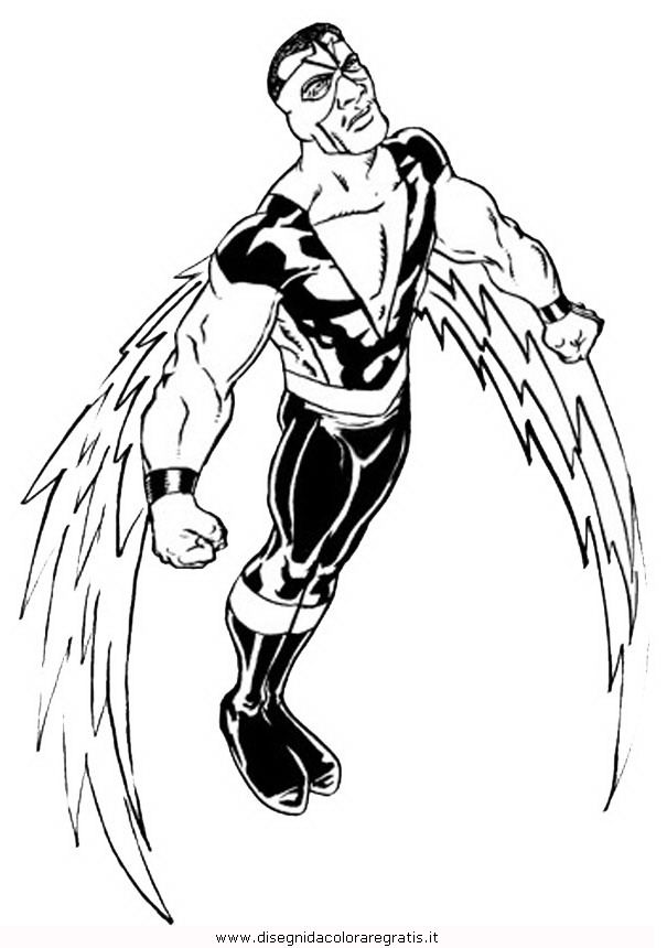 marvel falcon coloring pages - photo#2