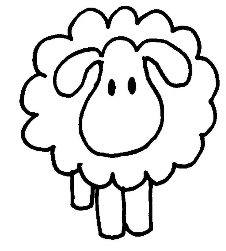 baby sheep coloring pages - photo#30