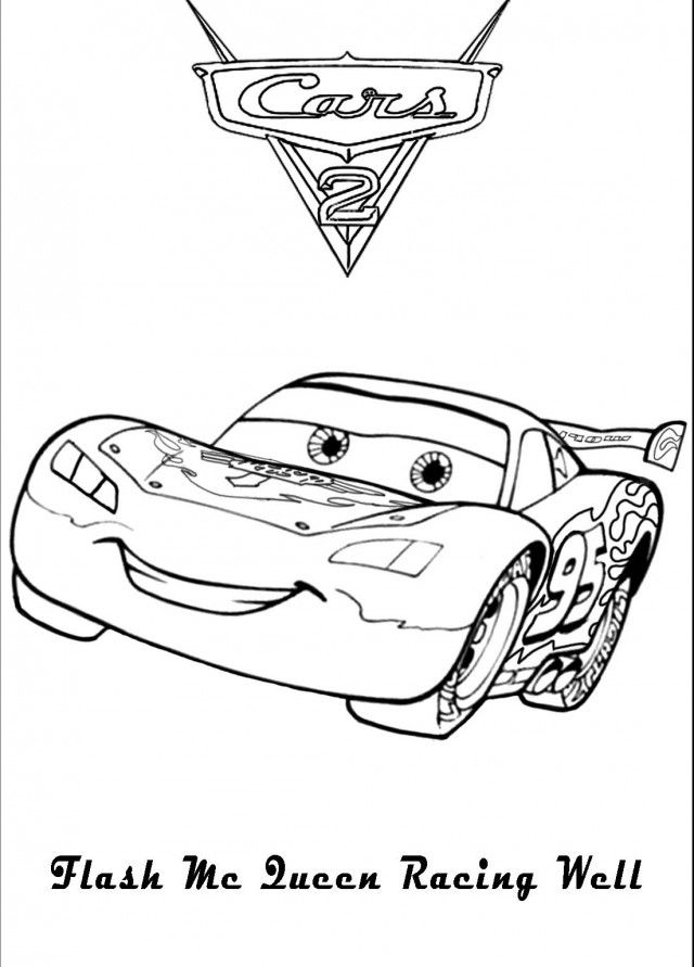 Lightning Mcqueen Coloring Pages To Print