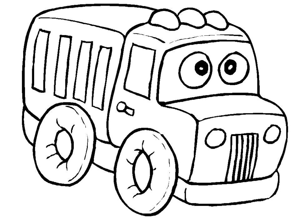 Semi Truck Coloring Page Semi Truck Coloring Pages