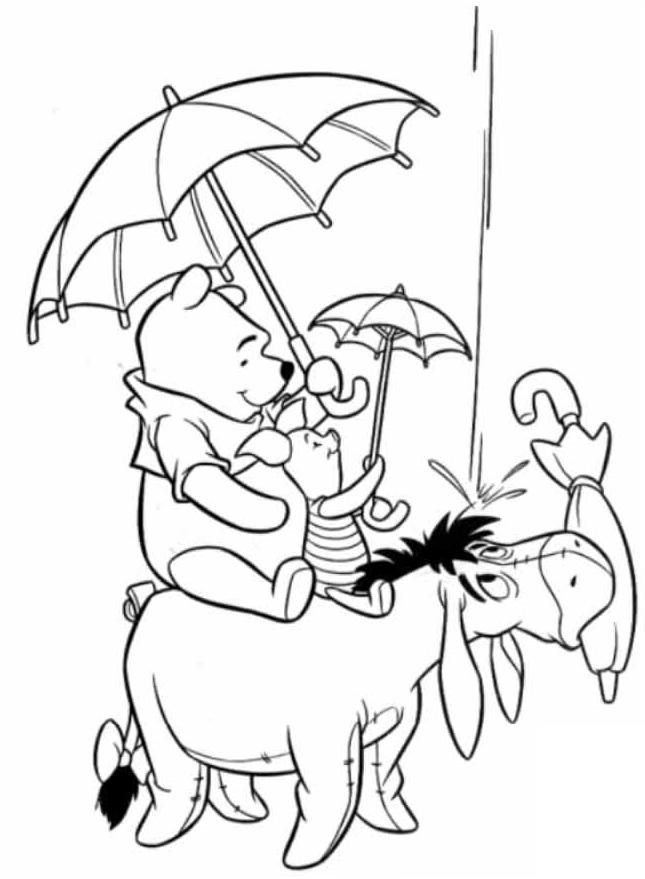 heffalumps and woozles coloring pages - photo#8
