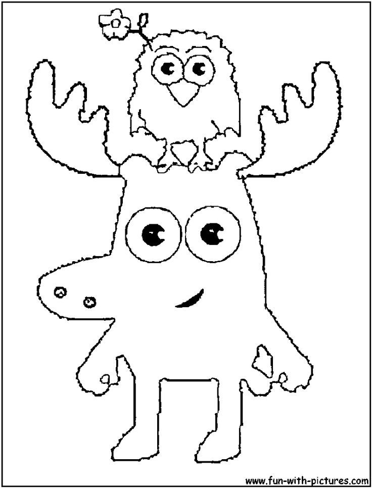 coloring Moose and Zee | Collin Frederick