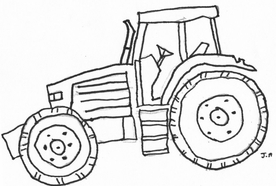 John Deere Tractor Coloring Pages Coloring Home Tractor Coloring Pages Printable