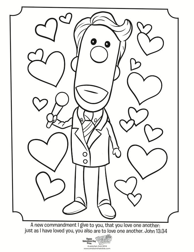 Love One Another Coloring Page Coloring Home