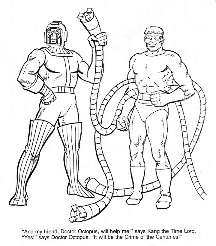 Marvel Coloring Page  AZ Coloring Pages