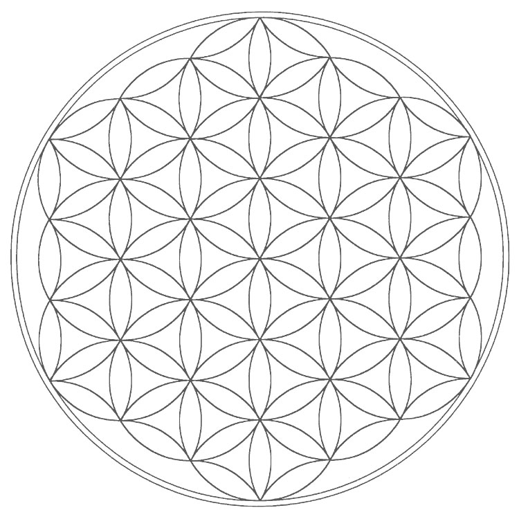 Gallery For gt Sacred Geometry Mandala Outline
