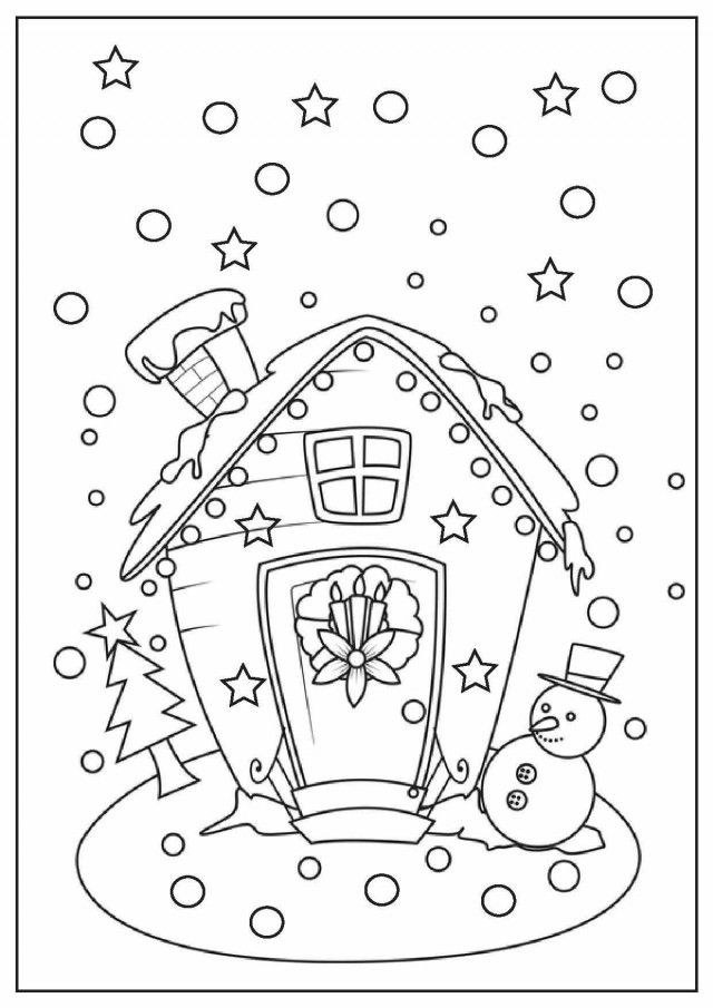 Advanced Christmas Coloring Pages Coloring Home