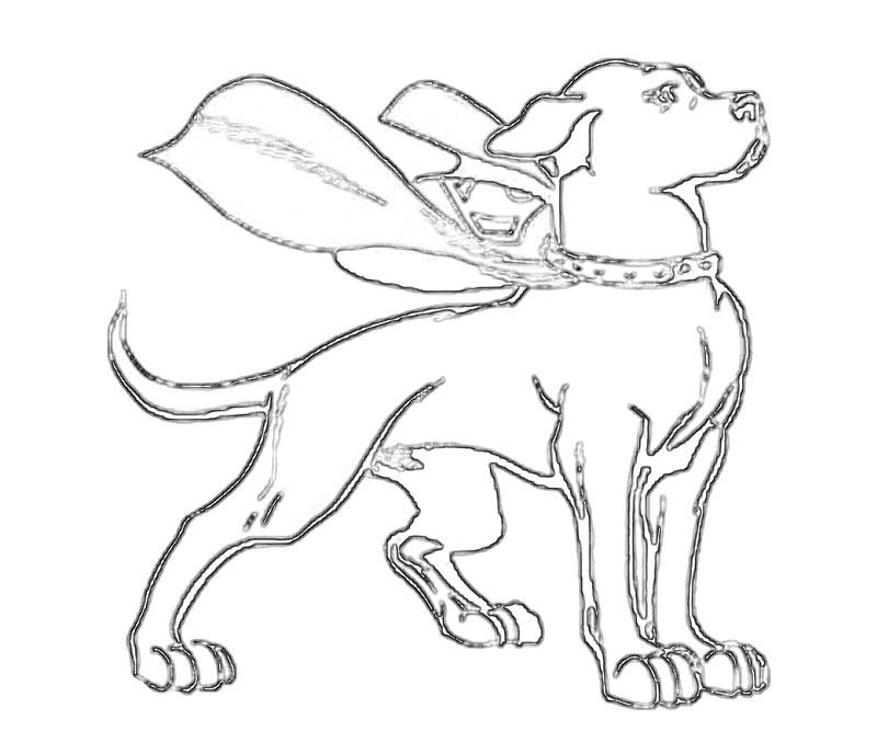 super dog coloring pages - photo#6
