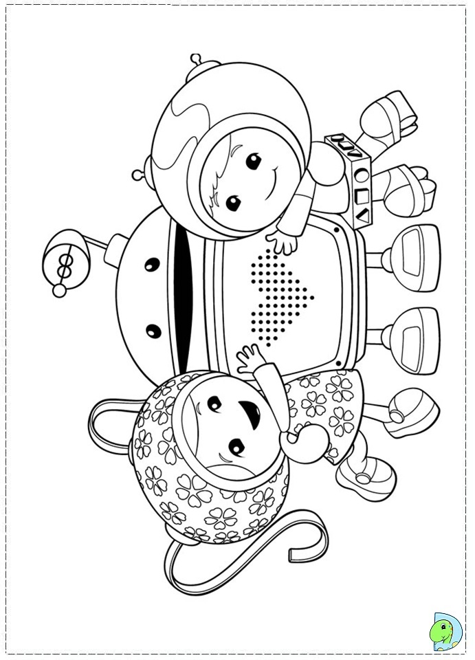 Team Umizoomi Colouring Pages (page 2)