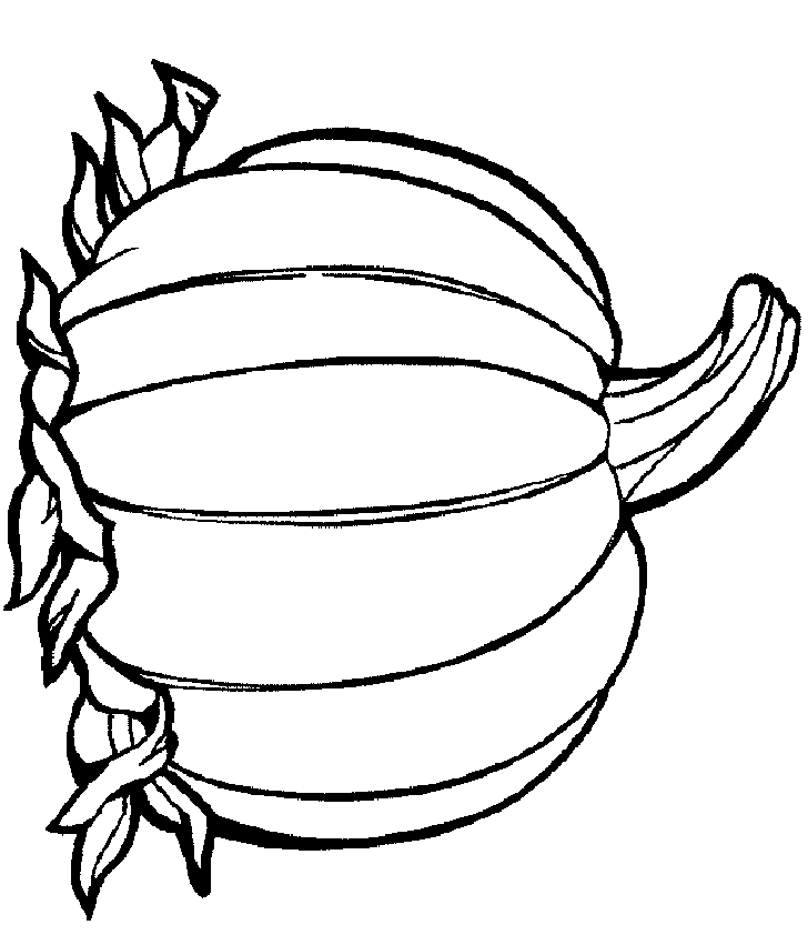 Pumpkin Coloring Pages Printables Images & Pictures - Becuo