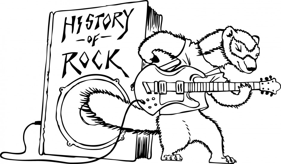 Rock and roll coloring pages free ~ Rock And Roll Coloring Pages Coloring Pages