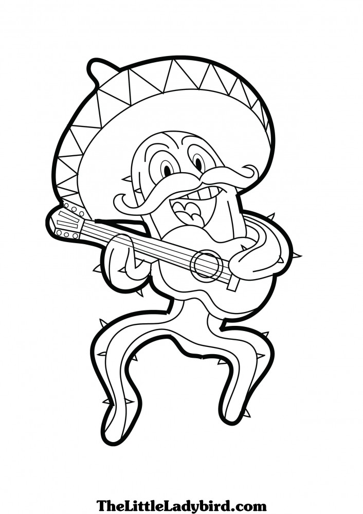 Mexican Coloring Pages For Kids Az Coloring Pages Coloring Pages Of Mexico