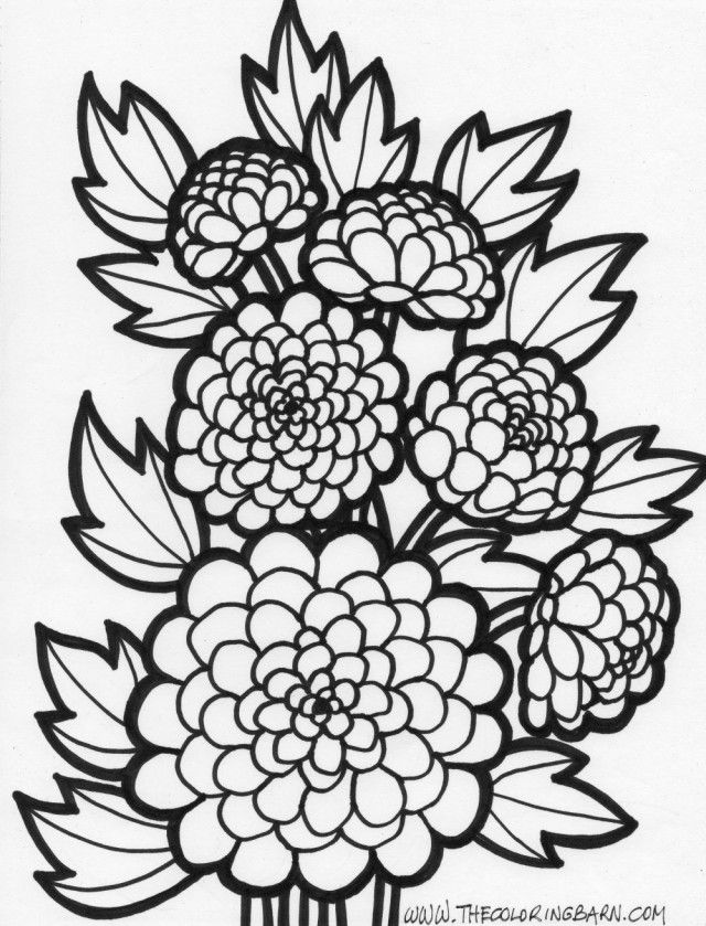 flower power coloring pages - photo#24