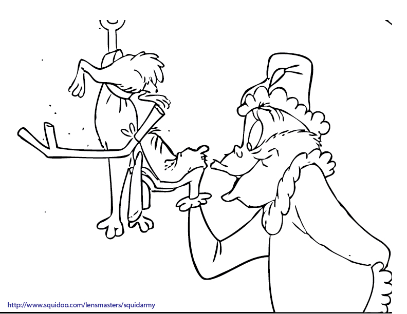 Grinch Stole Christmas Coloring Pages Az Coloring Pages How The Grinch Stole Printable Coloring Pages